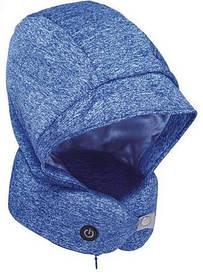 Подушка для шеи с капюшоном и наушниками Xiaomi Xiaobao with a Neck Pillow Blue (STT-0575)