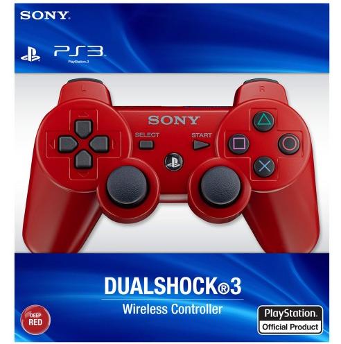 Джойстик для сони плейстейшен 3 / PS3 цвет красный