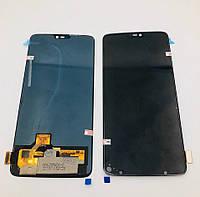 Дисплей для мобильного телефона  OnePlus 6 / 1+6 / черный / с тачскрином /  ORIG / OLED