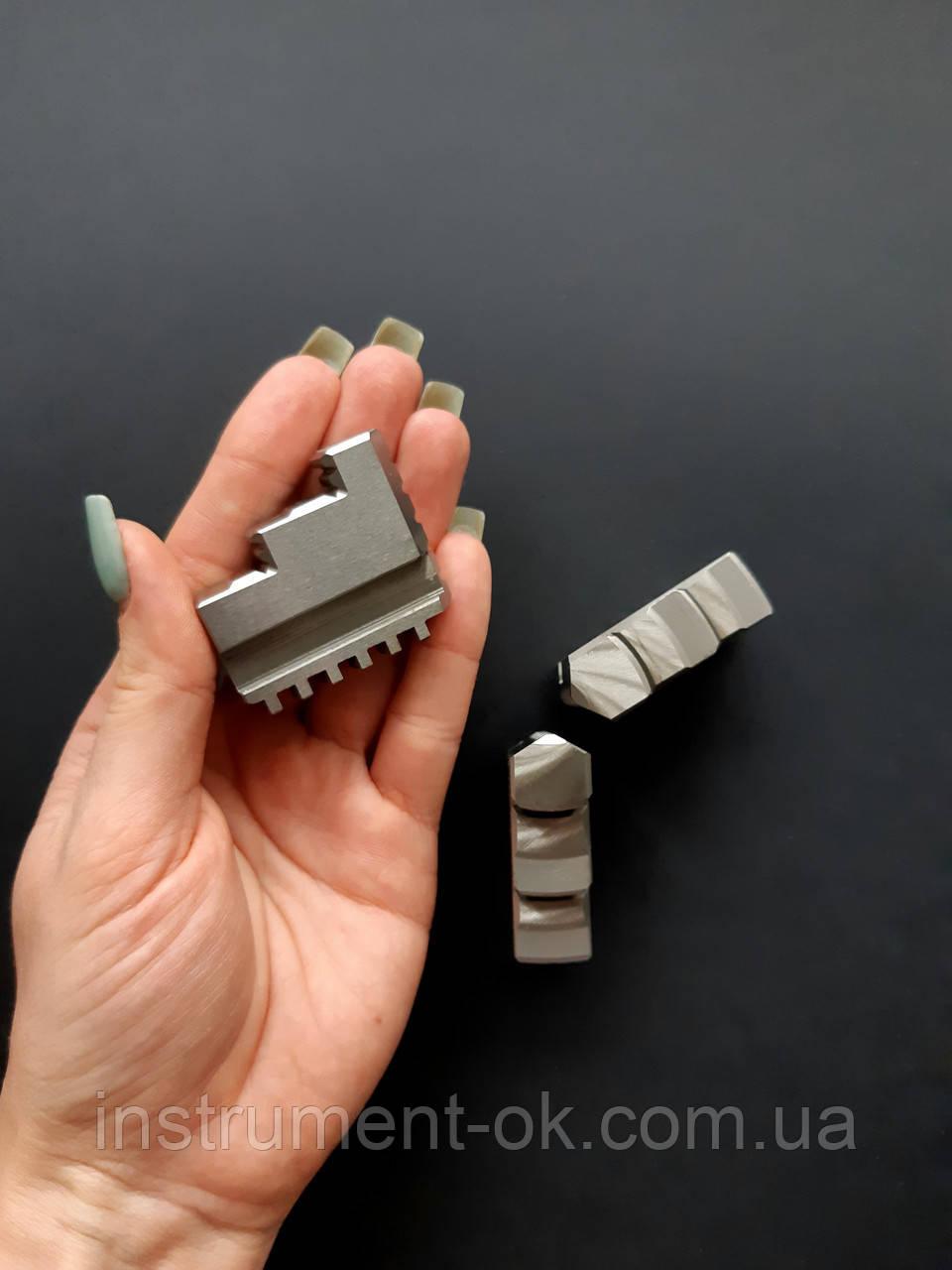 Кулачки прямые для токарного патрона d 250 мм