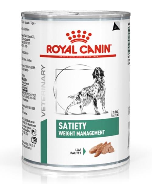 Вологий корм для собак з надмірною вагою Royal Canin Satiety Weight Management 410 г