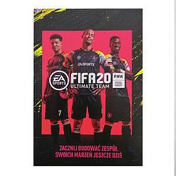 Бонус код FIFA 20 Ultimate Team (14д тестова підписка + 3 кумири в оренду і 1 золотий набір)