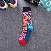 Стильные дизайнерские носки с необычным принтом