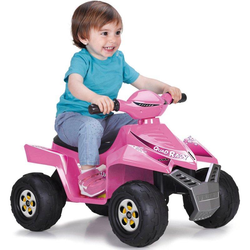 Детский электромобиль Feber Квадроцикл Quad  Розовый V 6 11422