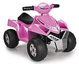Детский электромобиль Feber Квадроцикл Quad  Розовый V 6 11422, фото 4