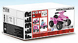 Детский электромобиль Feber Квадроцикл Quad  Розовый V 6 11422, фото 2