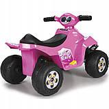 Детский электромобиль Feber Квадроцикл Quad  Розовый V 6 11422, фото 6