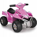 Детский электромобиль Feber Квадроцикл Quad  Розовый V 6 11422, фото 5