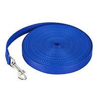 Нейлоновый поводок для собак, синий