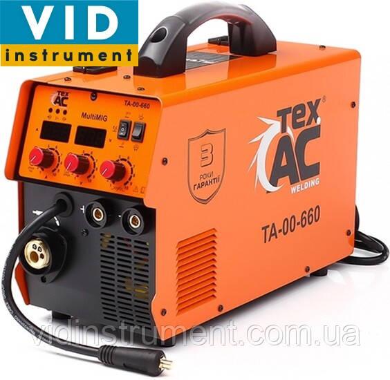 Зварювальний напівавтомат ТехАС MIG-MAG-Flux/ММА /TIG ТА-00-660