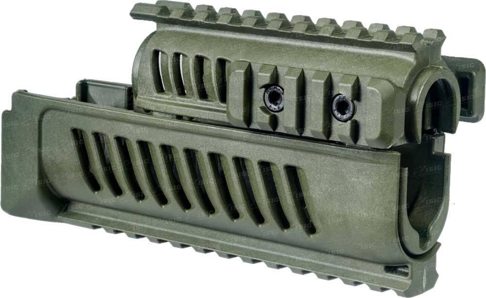 Цевье FAB Defense AK-47 полимерное для АК47/74. Цвет - оливковый