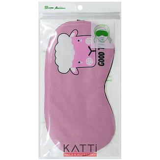 24307 повязка для сна KATTi Creative Animals розовая с овечкой, фото 2