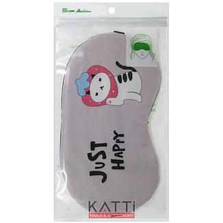 24311 повязка для сна KATTi Creative Animals розовая с тигрокотом, фото 2
