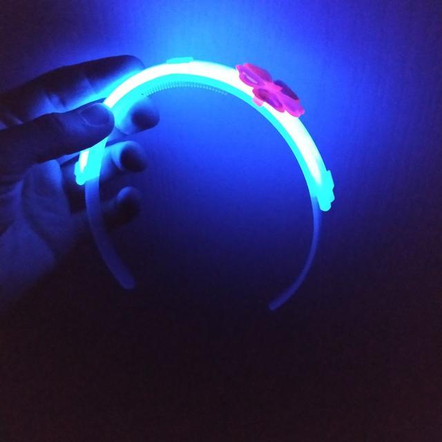 Светящийся обруч неоновый