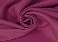Портьерная ткань для штор Блэкаут малинового цвета (Sunrise HXN BK220-36/280 BL)