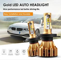 Авто лампы Oslamp IronWalls Led T6 H4 светодиодные