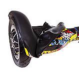 Силіконовий захист на гироборд 10 дюймів Black (Чорний), фото 2