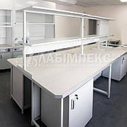 Стол лабораторный островной однотумбовый СЛО-1.061.05│СТАНДАРТ, фото 2