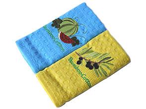 Набір кухонних рушників Nilteks Bamboo-Cotton Fruits, фото 3
