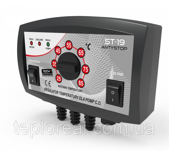 Автоматика для насосів опалення Tech ST-19 (Польща)
