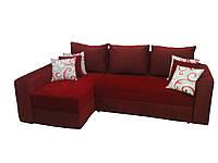 """Угловой диван """"Бали"""" красный. витрина 70., фото 1"""