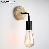 Винтажный светильник (бра) Ascelina WL173 настенный, фото 1