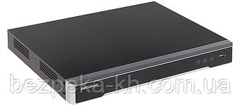 8-канальный 4K IP видеорегистратор  c PoE Hikvision DS-7608NI-K2/8P