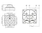 Переключатель для лодки и катера массы для лодки и катера Seaflo, фото 3