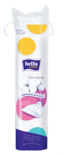 Ватные диски Bella Cotton (120шт.)
