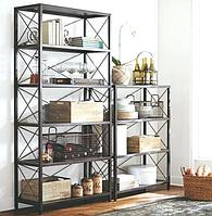 Комплект Дизайнерских Стеллажей в стиле Лофт Loft