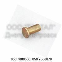 Заклепка латунная с плоской головкой от Ø3 до Ø10, ГОСТ 10303-80, DIN 7338 A