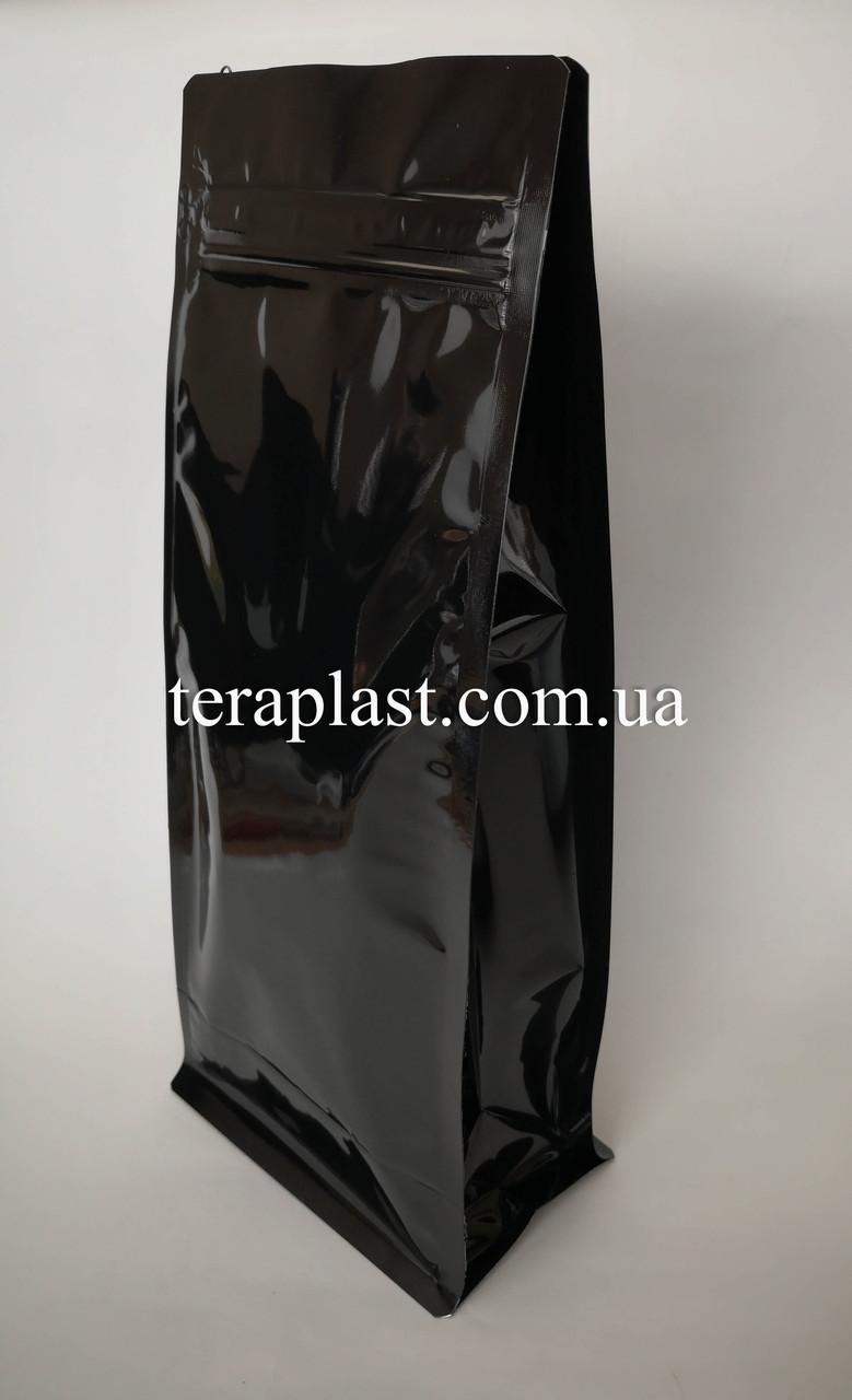 Пакет с плоским дном 1кг глянец 145х90х340 с зип-замком