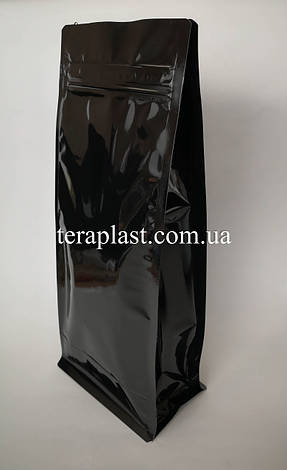 Пакет с плоским дном 1кг глянец 145х90х340 с зип-замком, фото 2