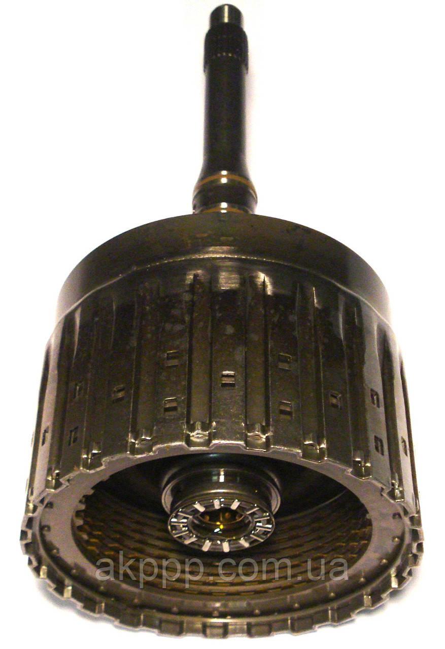 Акпп ZF6HP26, ZF6HP28 Вал входной с барабаном сцепления E 1068102314 б/у