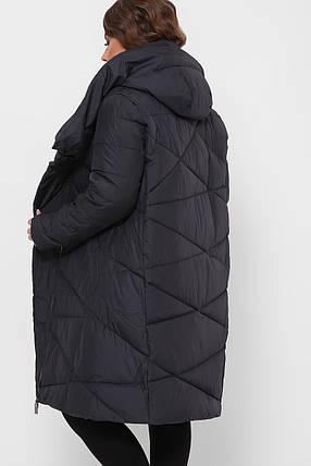 ЖІНОЧА зимова куртка з капюшоном Розміри 5XL-56, фото 2