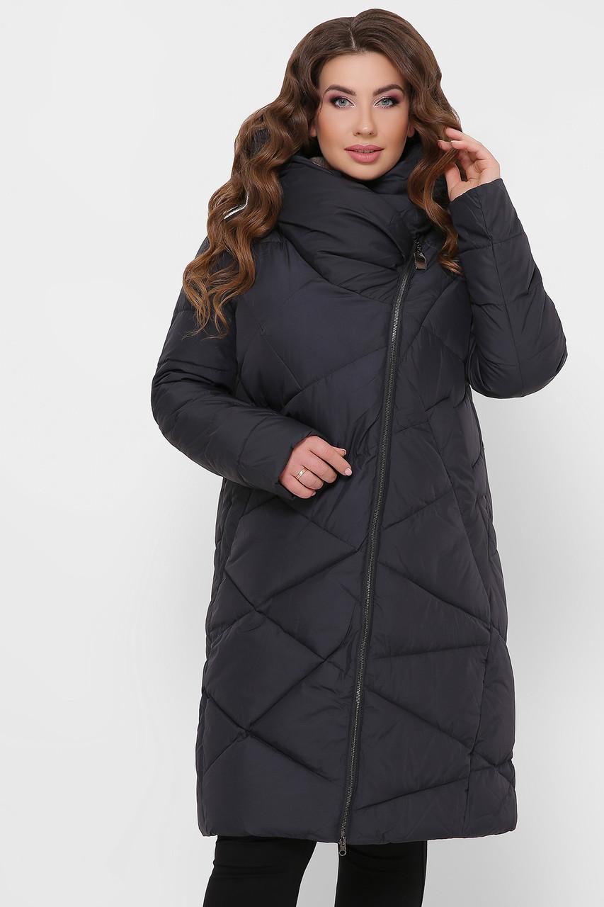 ЖІНОЧА зимова куртка з капюшоном Розміри 5XL-56
