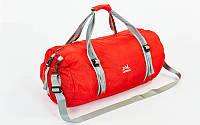 Сумка-рюкзак складная многофункциональная, PL, р-р 47х27х24см., красный (GA-1161-(rd))