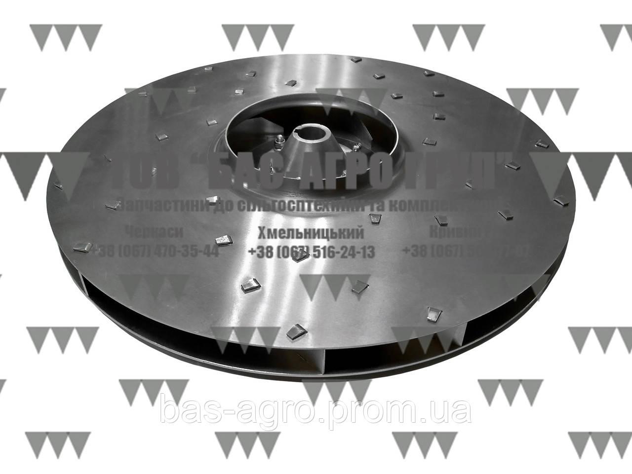 Крыльчатка вентилятора AC820825 Optima Kvernaland Аналог