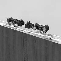 Система синхронного раздвижения дверей (дерево/алюминий), фото 1