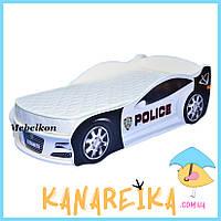 """Кровать для мальчика """"Полиция"""" в 2 цветах (ПОДАРОК!)"""