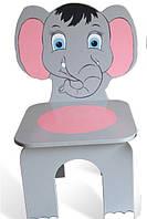 """Стілець дитячий """"Слоненя"""".АКЦІЯ -25% до 03.04.20"""