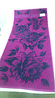 Полотенце махровое ТМ Речицкий текстиль, Вальс цветов 67х150 см