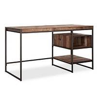Письменнй офисный стол в стиле LOFT (NS-963247355), вис-750мм, шир-700мм, довж-1400мм,