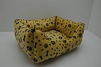 Лежак для собак и котов Лапки