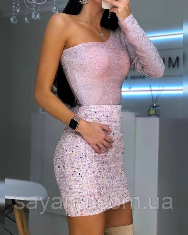 женская юбка букле