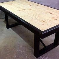 Кофейный журнальный стол в стиле LOFT (NS-463)