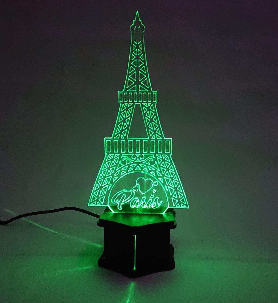 3D ночник Эйфелева Башня №43