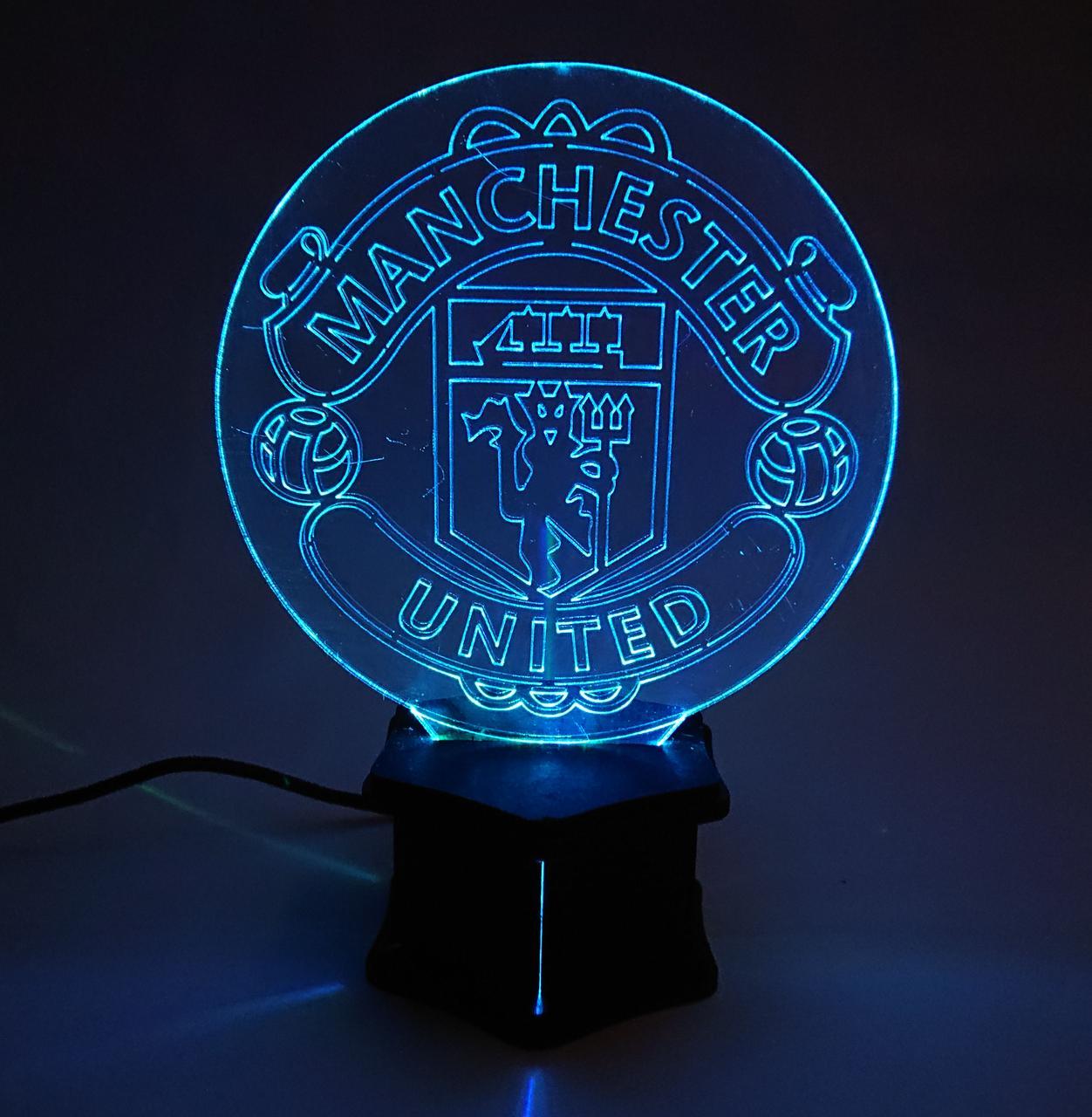 3D ночник Манчестер №36