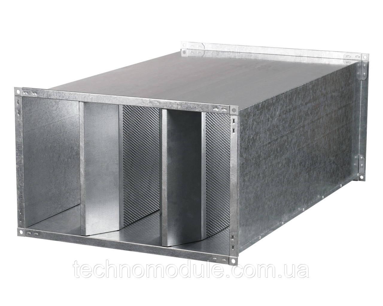 Шумоглушник канальний ШГД 250х200 L1000