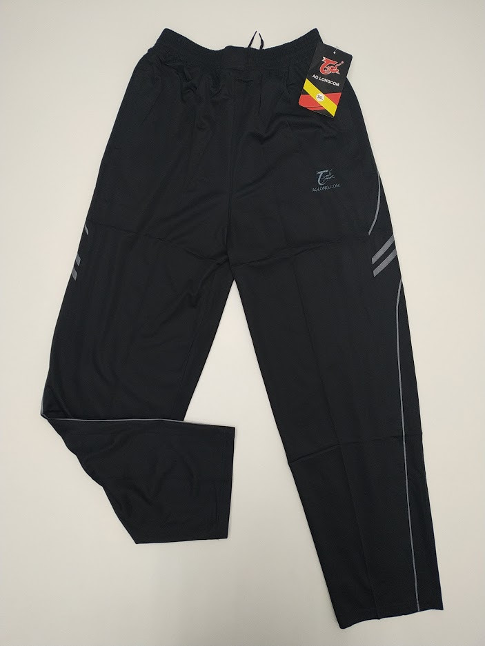 Штаны  спортивные мужские  AO Longcom 365 размеры XL-5L черные  МТ-140128